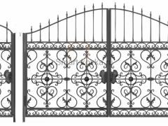 Кованые ворота 31