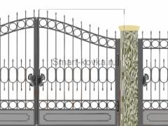Кованые ворота 32