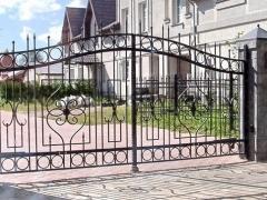 Кованые ворота 28