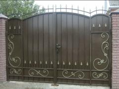 Кованые ворота 38