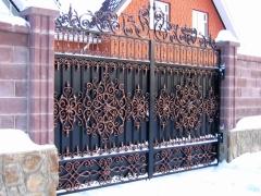 Кованые ворота 39
