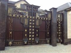 Кованые ворота 49