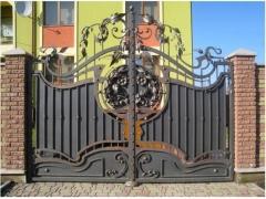 Кованые ворота 50