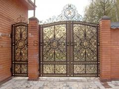 Кованые ворота 21