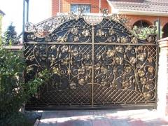 Кованые ворота 30