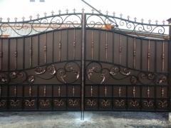 Кованые ворота 45