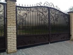 Кованые ворота 46