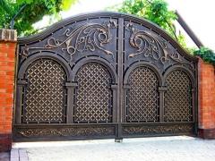 Кованые ворота 47
