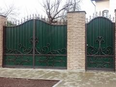 Кованые ворота 48