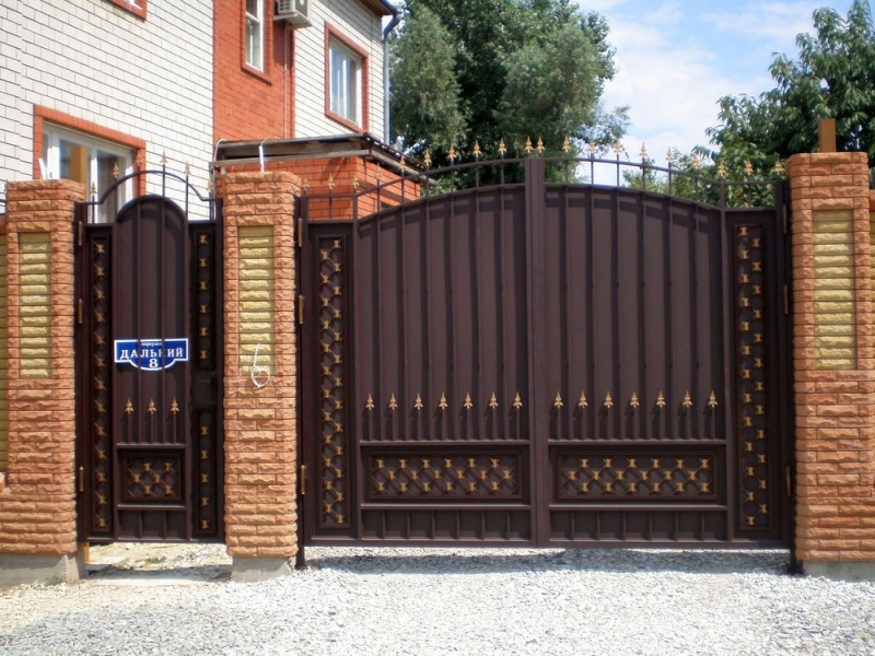 купить ворота для дома в ставрополе