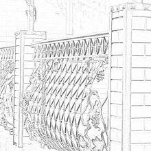 кованый забор в Коломне