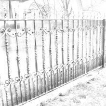 кованый забор в Королеве