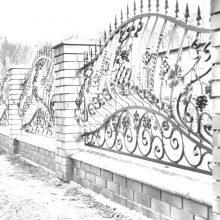 кованый забор в Подольске