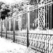 кованый забор в Химках