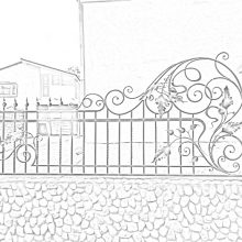 кованый забор в Электростали