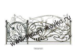 Эскизы кованной ограды
