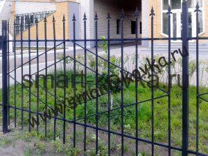 сварной забор 8